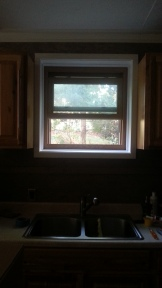 New interior window inside studio